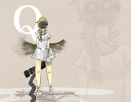 Q-Rin Kagamine by EtherealX-P