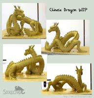 chinese dragon WIP by Strecno