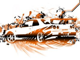 nissan skyline by ispad3z