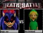 Sonic.exe Vs Ben Drowned by newsuperdannyzx