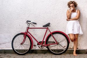 Red Bicycle by dkokdemir