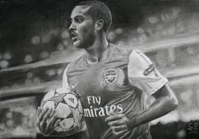 Theo Walcott - A2 by SSDrawings