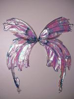 Pearls and Ice Pixie Wings by KimsButterflyGarden