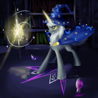 Starswirl bearded. Teurus Conseption. by Dalagar