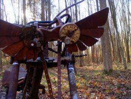 The Gunslinger Steampunk Wings by livetoletlive