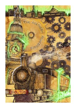 Limited Edition Steampunk Poster by xArcox