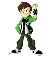 Ben 10 - My Own Reboot by insanedude24