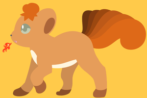 Request - Vulpix by drill-tail