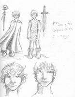 The wizard heir sketch by l-Ataraxia-l