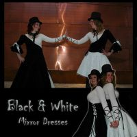 Black and White Mirror Dresses - 2007 by e-Sidera