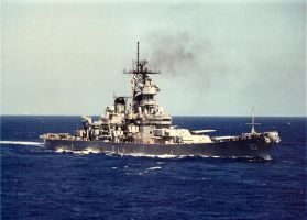 BB63 USS Missouri by howardtj43147