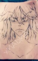 fan art:ryuko matoi from klk wip by xMADMATEx