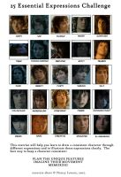 Frodo's 25 Expressions by Flame22