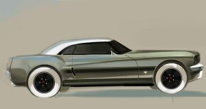 neoretro mustang by airgee