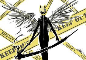 30 Days Challenge #19 - Celty Sturluson by Karol-Wolf