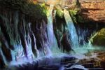 Burney Falls by chateaugrief