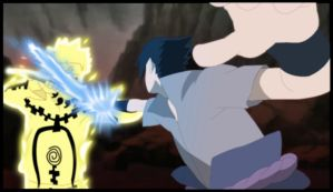 Sasuke vs Naruto final battle by itachiulquiorra