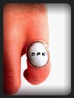 hanging hand with ring by Steffan
