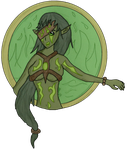Dark Woods: Swamp Nymph by DarKingdomHearts