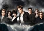 Cullens Eclipse Wallpaper by masochisticlove