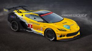 Corvette C8.R by javieroquendodesign