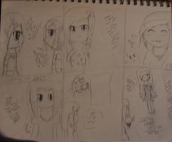 A short little comic :3 ( day 21ish) by Fallinginreverse1298