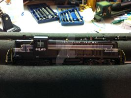 NYC RS-3 model. by Railphotos