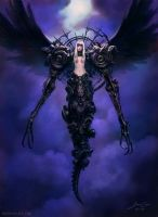 Iron Angel by ConceptArtOrg