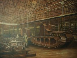 Tank Factory Lincoln by mickit