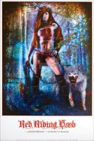 Red Riding Hood poster by kevinroberts