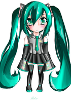 Miku Chibi by TacToki