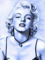 Marilyn Monroe by montag451