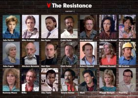 V - The Resistance Group 1 by Sternwise