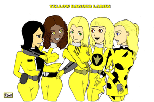 Yellow Ranger Ladies by geverglade-280