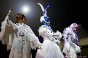 Malice Mizer On Stage by VampireIonFortuna