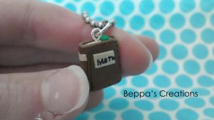 Textbook Charm (WITH TUTORIAL!!!) by BeppasCreations