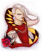 happy valentines -- ghirahim by Raven-igma