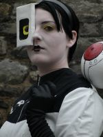 GlaDOS Closeup by BattyTea