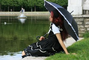Gothic Lolita 7 by Kechake-stock