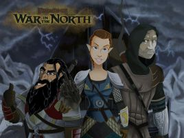 War In The North LOTR by NanoCigT