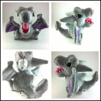 pokedoll style areodactyl by LRK-Creations