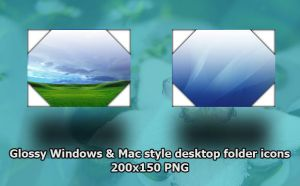 Windows and Mac Style Desktop by lehighost