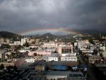 Rainbow over the heart of Hollywood by Pabloramosart