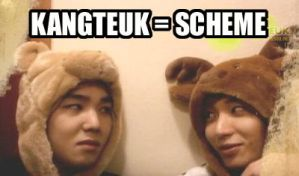 KangTeuk - The Dynamic Duo by xXWilted-RoseXx