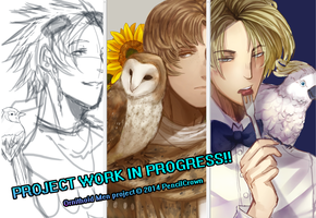 Ornithoid Men :wip: by PencilCrown