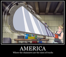 America Motivational Poster by Twelve-Candles