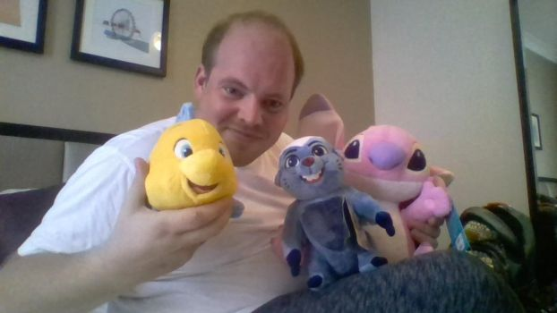 Me and my new Disney dolls by MortenEng21