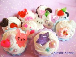 Sweets Deco Rings by FrostedFleurdeLis