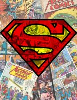 Superman Collage by BaronDobbs