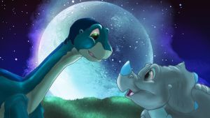 moonlit love by 72-Hours-Remain